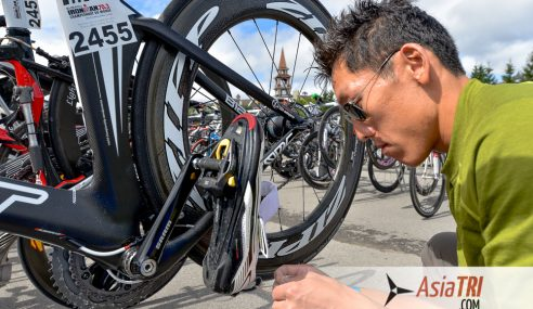 Big race in a new place: Advice for new triathletes