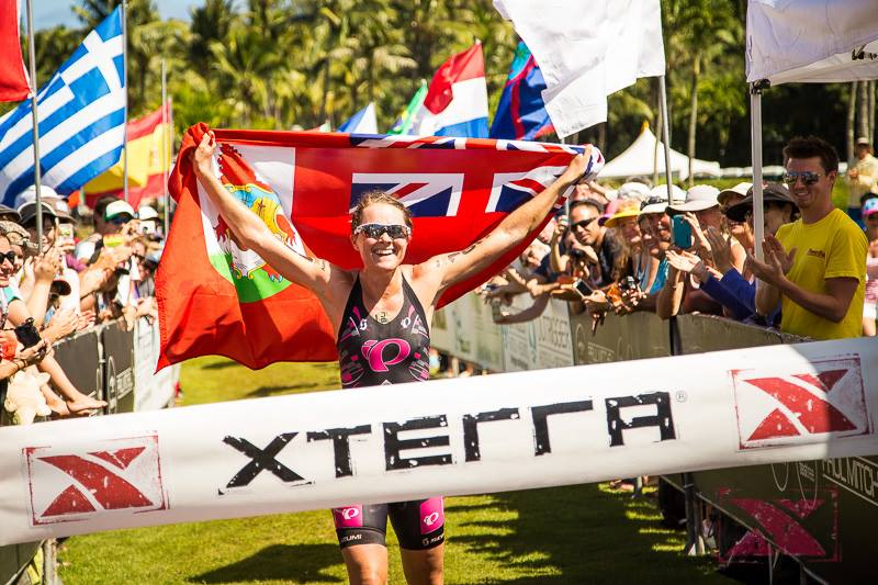 Flora Duffy - the 2014 XTerra World Champion is racing in the Philippines this weekend