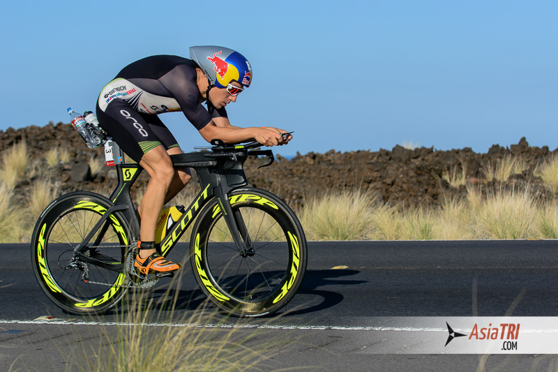Sebastien Kiele is the current Ironman World Champion