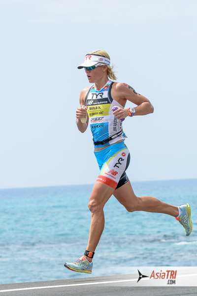 2014 Ironman World Champion Mirinda Carfree is racing in Melbourne