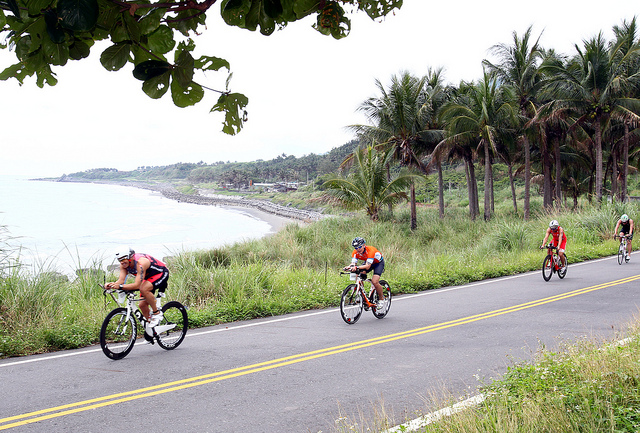 Challenge Taiwan and Tri.Asia short course events offers a good experience for the athletes and families