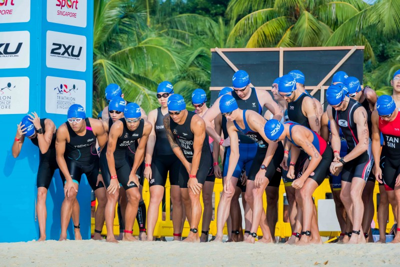 Race was held at Singapore's Palawan Beach on February 8 and saw many experienced and beginners athletes taking part at the event
