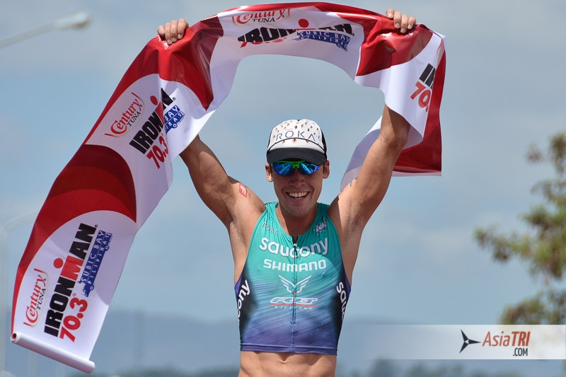 Tim Reed captures the win at Ironman 70.3 Subic Bay, Philippines