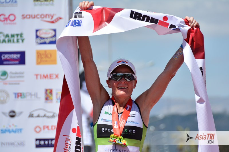 Parys Edwards won Ironman 70.3 Subic Bay on March 8th and is in great form