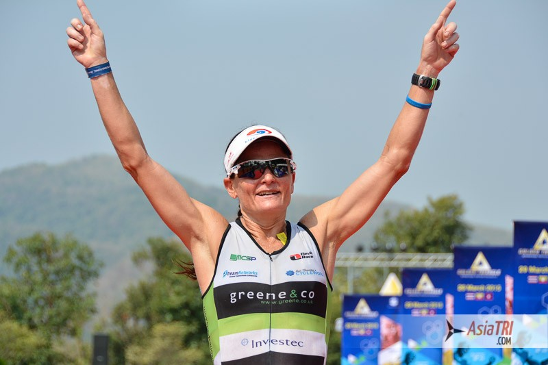 Parys Edwards has won three races she has done in march. Ironman 70.3 Subic Bay, Cha-Am Triathlon and Golden Triangle Triathlon