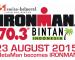 Ironman 70.3 Bintan (Indonesia) announced