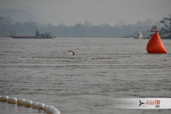 Swim down the Mekong river make sit a very fast swim