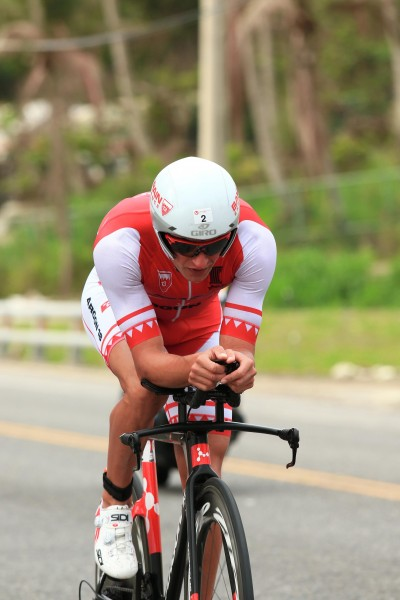 Terenzo closed the gap to the lead on the bike