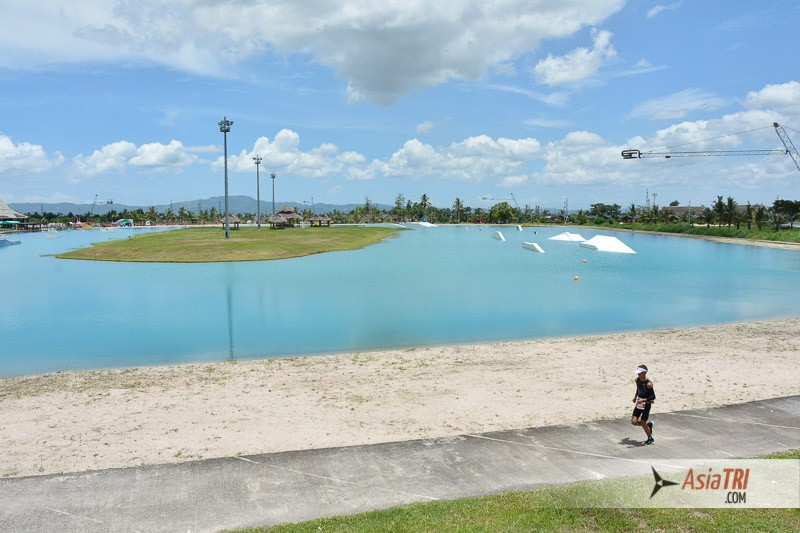 The hosting venue CWC Asia's biggest cable wakeboarding waterpark