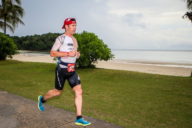 at the 2014 MetaMan Bintan Triathlon on August 23 at Bintan Island, Indonesia