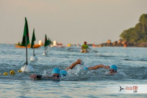 Race Day Strategy: Drafting for a Quick Swim Split