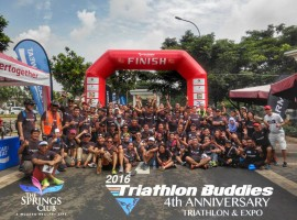 Triclub Profile: Triathlon Buddies in Indonesia and it's 2.000 affiliates