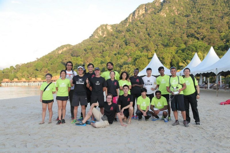 David and the XTerra Malaysia team