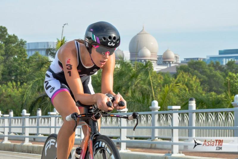 Radka Vodickova at Ironman 70.3 Putrajaya, Malaysia