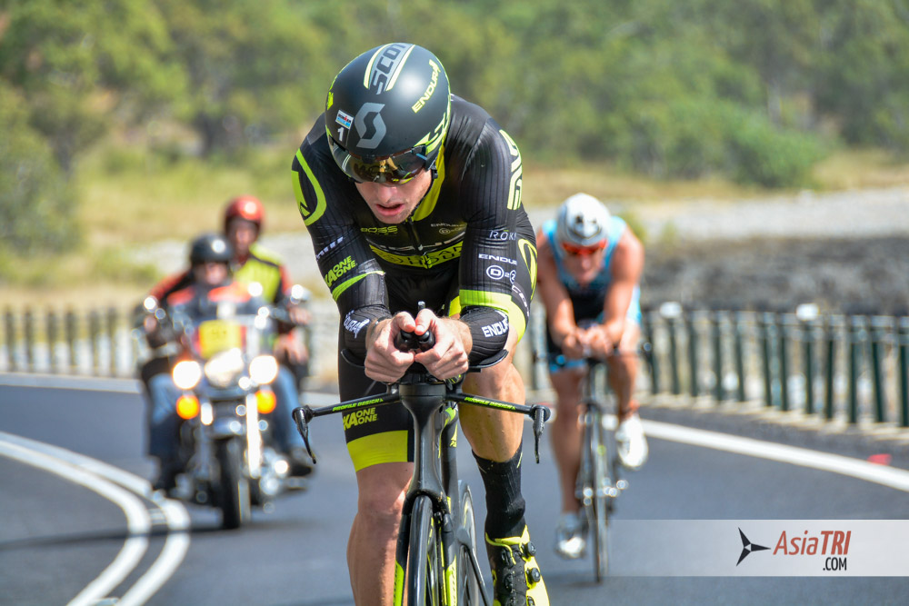 Luke McKenzie leads Ironman Cairns