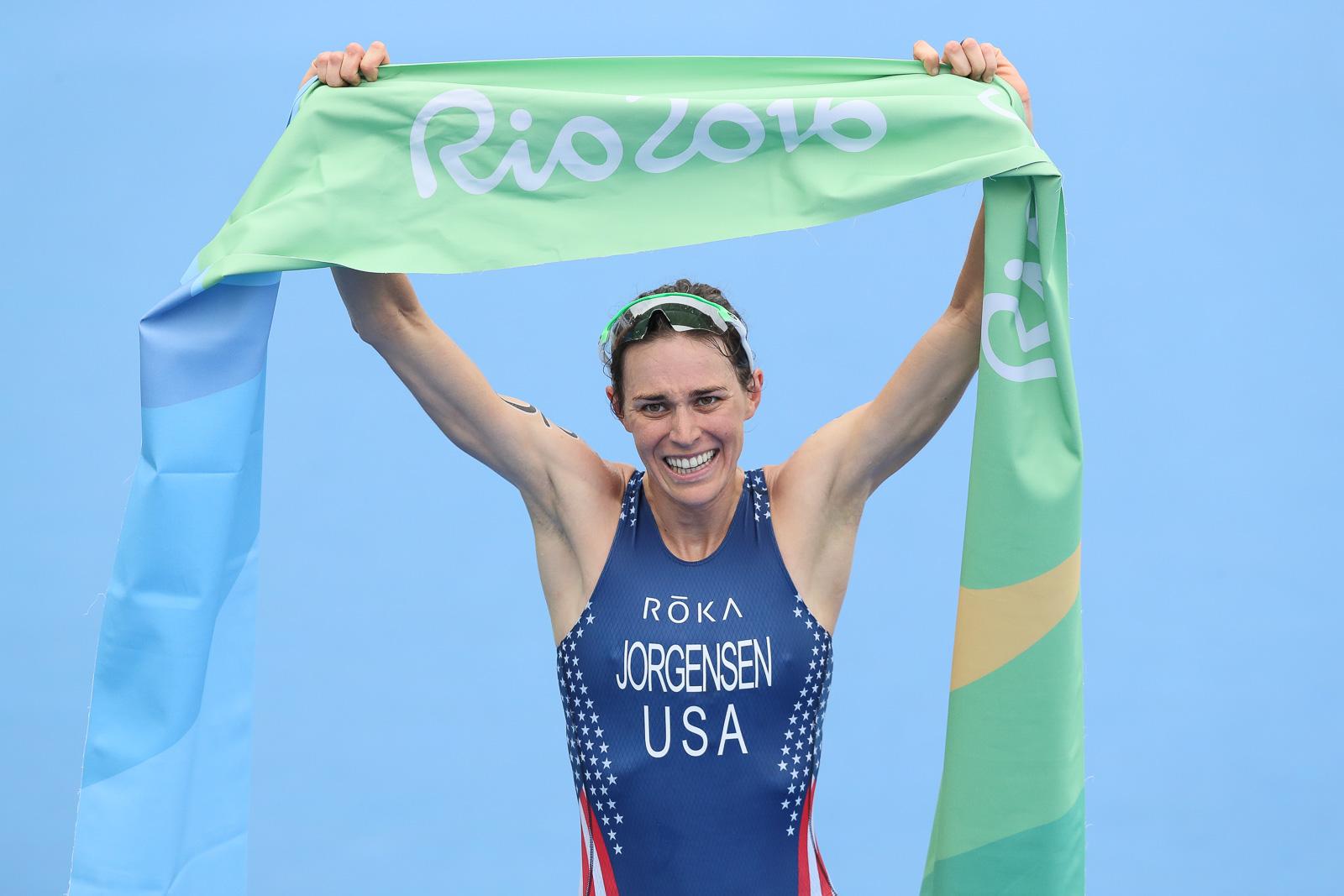 Gwen Jorgensen wins Rio Olympics
