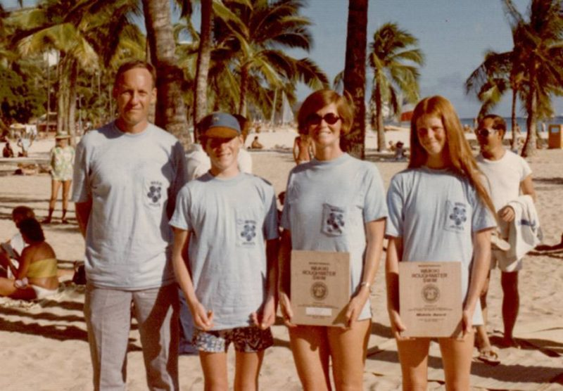 John and Judy Collins.  Founders of Ironman Triathlon