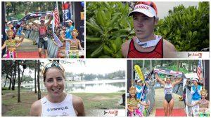 Ironman 70.3 Thailand – winners interview: Tim Reed & Amelia Watkinson