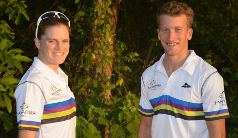 Meet Thanyapura's Newest Tri Couple:  Ritchie Nicholls and Eimear Mullan