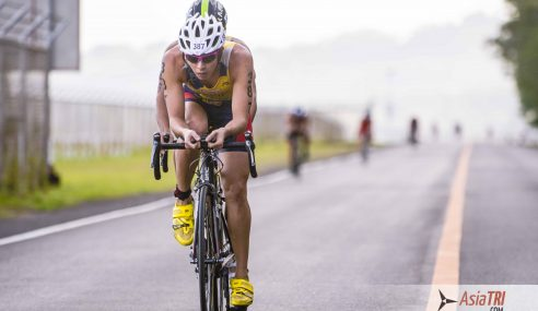 Ramos, Ong Top National Age Group Triathlon-Subic, Philippines