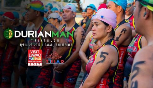 Win a FREE entry to Durianman (Davao City, Philippines) – Race date 23 April 2017