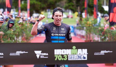 Luxford, Appleton bike way to wins in IRONMAN 70.3 Geelong
