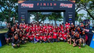 Thousands of runners hit streets at TRI-Factor Run-Singapore
