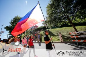 Images from the Nations Parade at Ironman 70.3 World Championships in Chattanooga