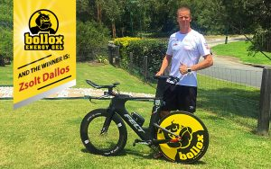 Bollox Energy Gel Disc Wheel Winner: Zsolt Dallos