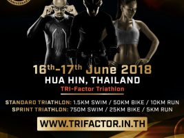 Winner of Tri-Factor 10 Challenge (Hua Hin, Thailand) Race Slot Contest Announced
