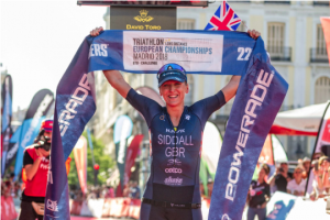 Timothy Van Houtem and Laura Siddall conquer the European Long Distance Championship ETU Challenge Madrid 2018