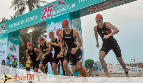 26th Laguna Phuket Triathlon to See Clash of Multiple Champions
