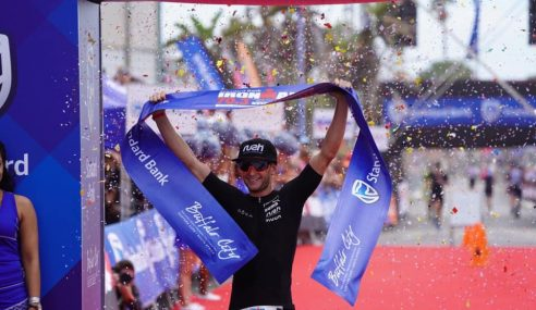 South African athletes reign at home at Ironman 70.3 South Africa