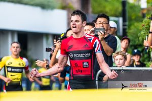 Zaferes (USA), Brownlee (GBR) Grabs Eliminator Victory in Super League Grand Finale in Singapore