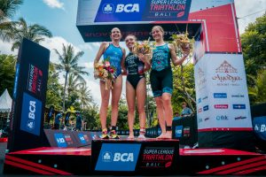 Dodet (FRA), Fisher (AUS) Dominate on Day One of Racing in Super League Bali