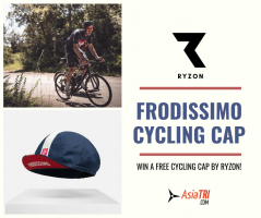 5 Winners to the FREE FRODISSIMO CYCLING CAP by Ryzon Announced