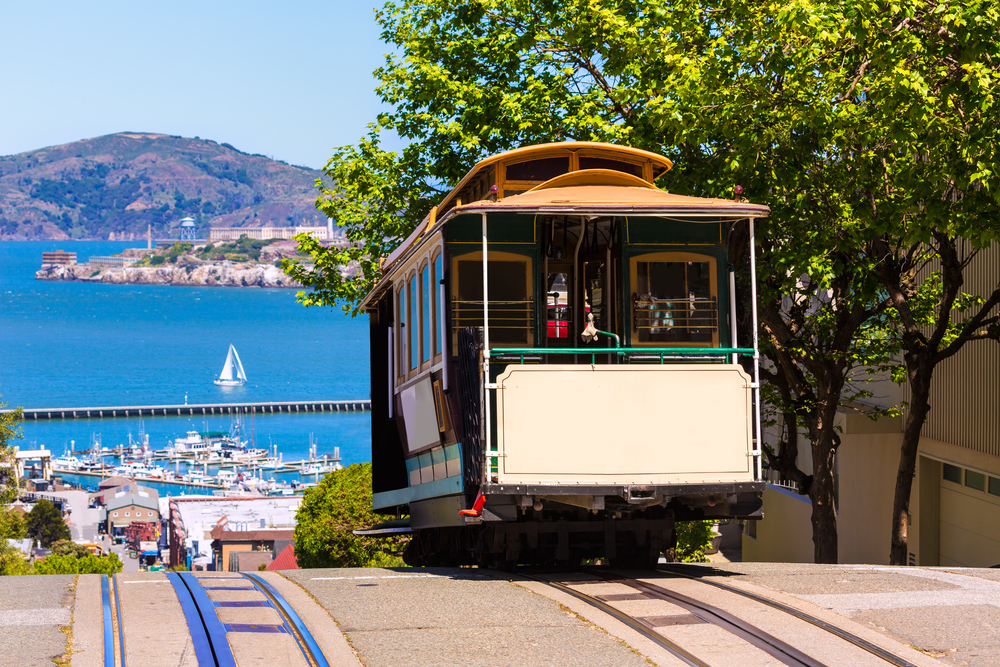 San francisco Hyde Street Cable Car California - AsiaTRI com