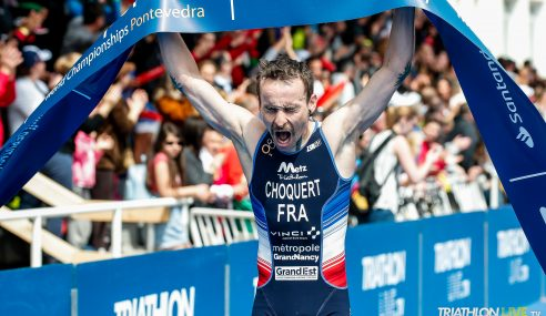 Benjamin Choquert and Sandra Levenez crowned with ITU Duathlon world titles in Pontevedra