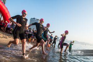 Challenge Family: 3 PRO tips to nail your triathlon swim start