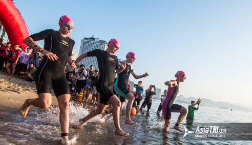 Challenge Family: 3 PRO tips to nail your triathlon swim start