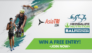 Winners to the Free Entry to 2019 Bali International Triathlon Announced