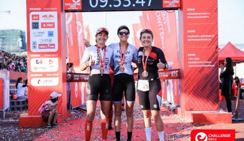 Levi Maxwell and Meredith Hill claim victory at the inaugural Challenge Anhui