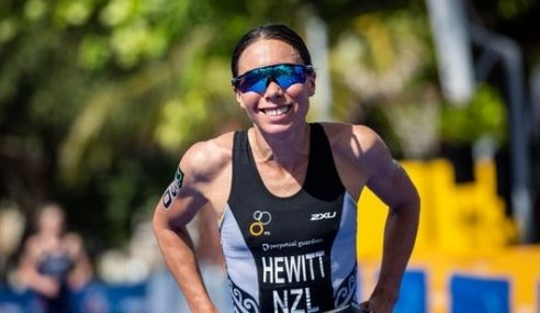 Emotional win for Andrea Hewitt in Santo Domingo World Cup