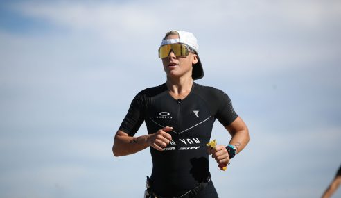 Sarah Crowley (Brisbane, Australia) Claims Victory at The 2019  Ironman Arizona Triathlon