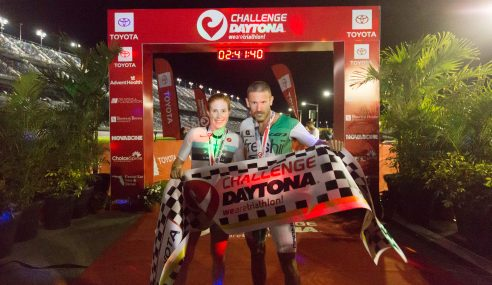 Spectacular Canadian victories at CHALLENGEDAYTONA: Lionel Sanders and Paula Findlay grab wins