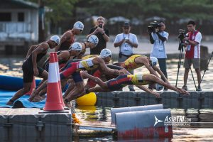 Gallery: Best Images from the 2019 Southeast Asian Games-Men's and Women's Triathlon