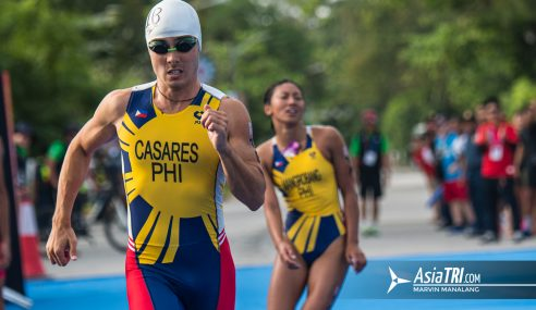 Gallery: Best Images from Mixed Relay Triathlon-2019 Southeast Asian Games
