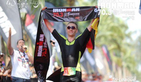 Wolkowicz (DEU), Szeto (HKG) win 2020 Ironman 70.3 Bangsaen