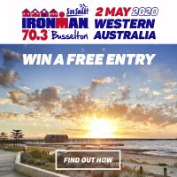 Online Raffle Draw: Free Entry to 2020 Ironman 70.3 Busselton- Race Date: 2 May 2020