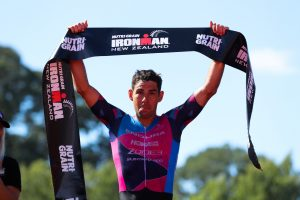 Record Braeaking Day as Skipper, Adam make history at Ironman New Zealand